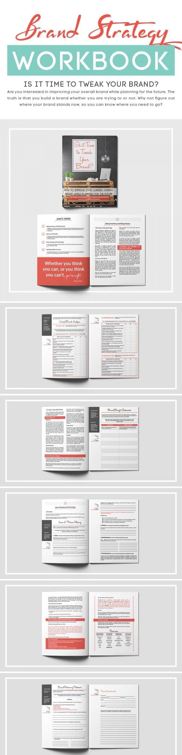 mission statement template te hakk nda den fazla fikir is it time to tweak your brand workbook take inventory of your current