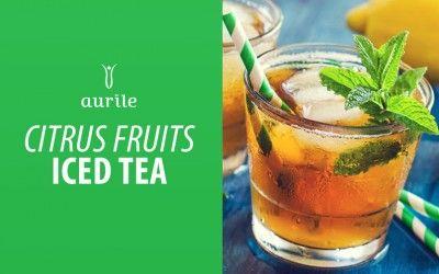 Mrożona herbata Aurile Harmony & Euphoria z cytrusami