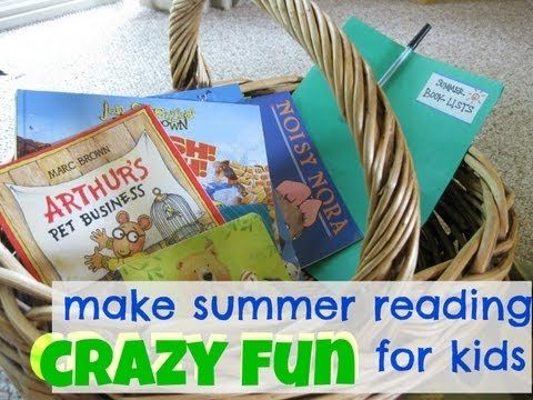 How to Make Summer Reading Fun for kids