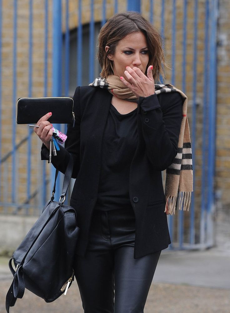 Caroline Flack was spotted at Rehearsal studios in West London on January 7, 2015 wearing an all black ensemble. The 35-year-old English TV presenter…