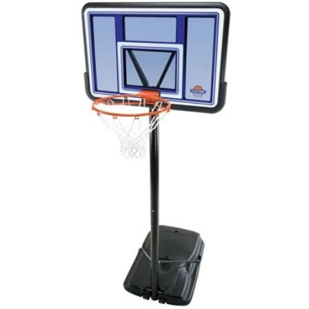 Lifetime Basketball Systems - 90073 Portable Basketball Hoop 44-inch Backboard Goal