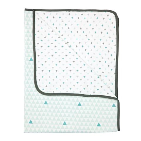 Misty Mint Multi Towel Blanket - Misty Mint Multi Towel Blanket - Luma Babycare Australia