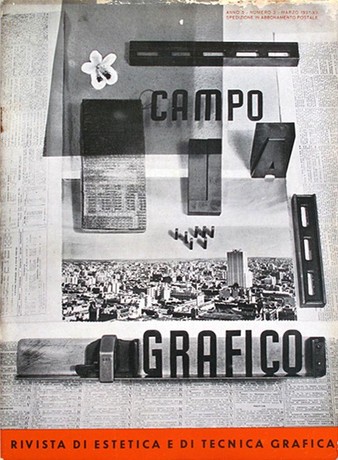 Campo Grafico - Nº 3 - Grete & Horacio Coppola, March 1937