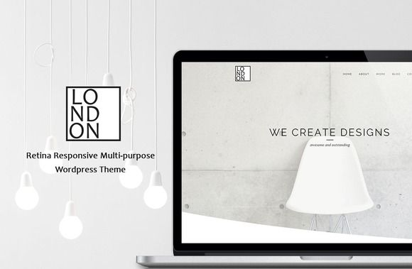 Check out London - Retina Wordpress Theme by Maelstrom on Creative Market