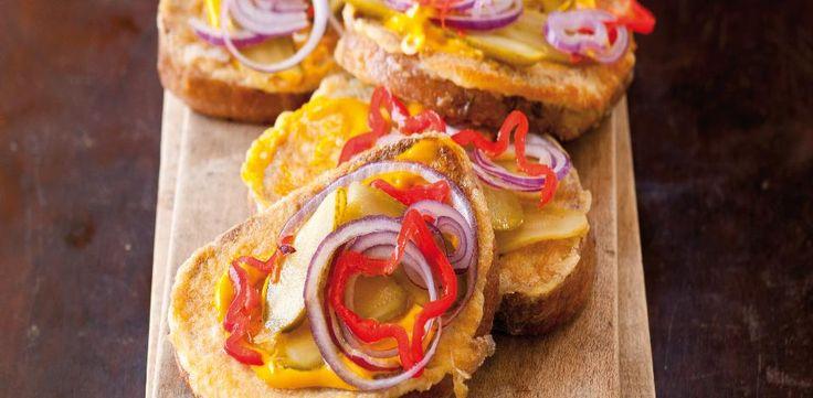 Recepty: Smaženky - chleby ve vajíčku