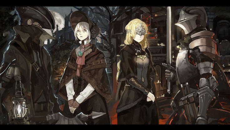 Gry Wideo Crossover  Bloodborne Dark Souls III Tapeta