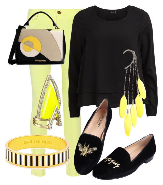 """Buzzin' like a bee"" by frosted-tree on Polyvore"