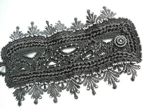 crochet cuff bracelet   crochet cuff bracelet   Flickr