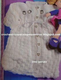 Olá amigas, mais uma sugestão de receita   Saco de dormir, em trico, para bebe   Esse ponto é muito bonito.   Há alguns anos fiz uma blusa ...