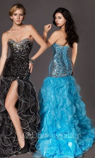 Blue Sweetheart Neckline Corset prom dress 2013 MDSP142 via http://www.mydressesshop.com/#