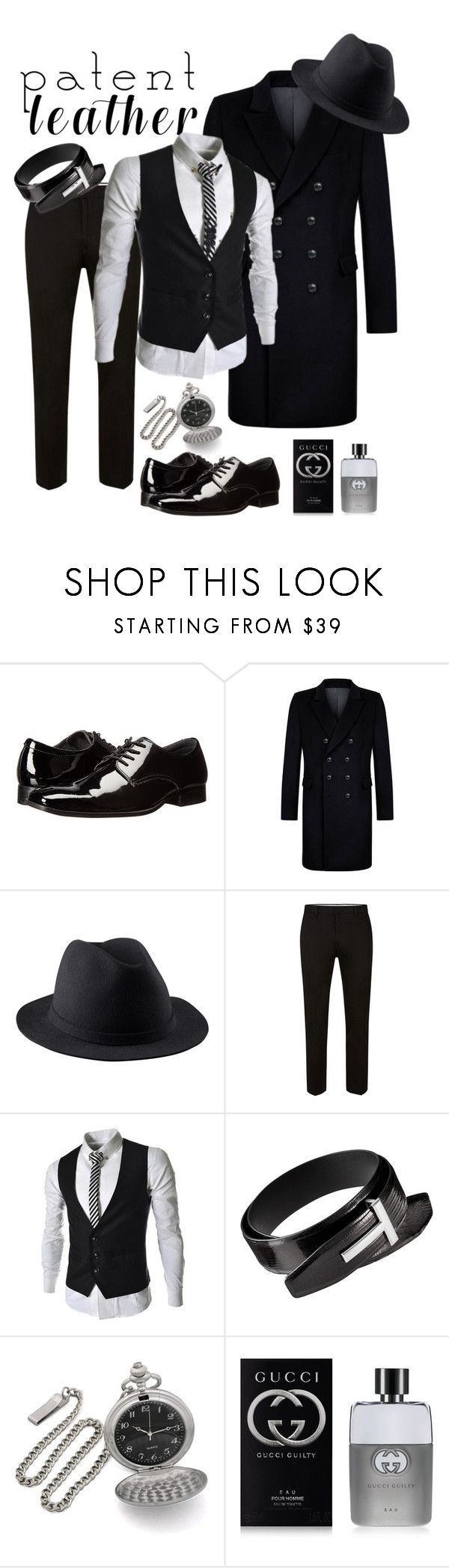 """""""Vernice - L'uomo"""" by antonio-b ❤ liked on Polyvore featuring Calvin Klein, Kumeth, A.P.C., Topman, Gucci, men's fashion and menswear"""