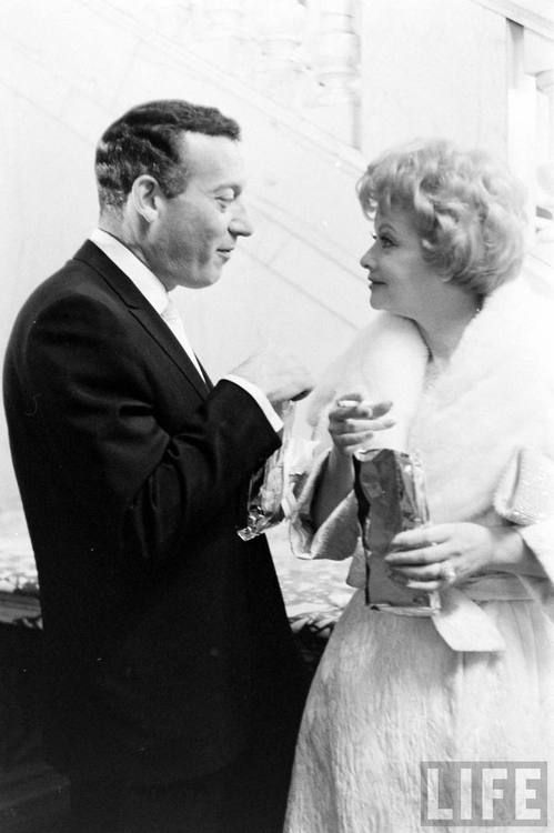 """Gary Morton and Lucille Ball...Lucy With Husband #2, Gary Morton...The Marriage Was, On the Surface, A Contented One, But After Morton's Passing, Much Was Revealed About His """"Hand In The Cookie Jar"""" Of This Bright Stars' Finances....Sad, But A Seemingly Peaceful Change After Ball's Volitale Union With Desi Arnez..."""