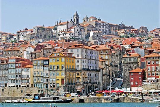 A Ribeira  Porto, Portugal