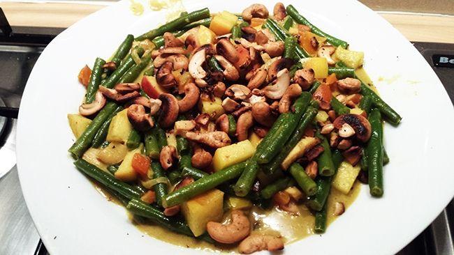 Recept voor gezonde Boboti, glutenvrij en met weinig koolhydraten. Een ideale maaltijd om op je gewicht te blijven letten.