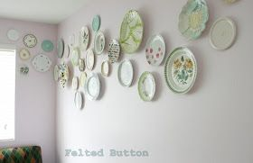 Felted Button - Colorful Crochet Patterns: ::Flying Plates::