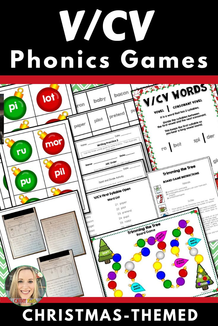 v  cv first syllable open games  activities  segmenting