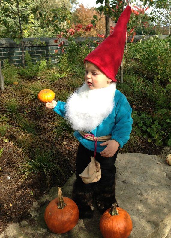 Gnomeo Baby, Toddler Costume with beard
