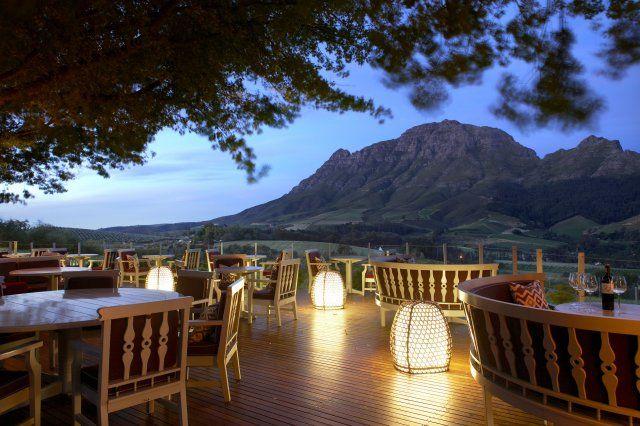 Indochine Restaurant at Delaire Graff Estate Luxury Lodging, Winery, Sculpture Garden and Destination Spa, Stellenbosch, South Africa