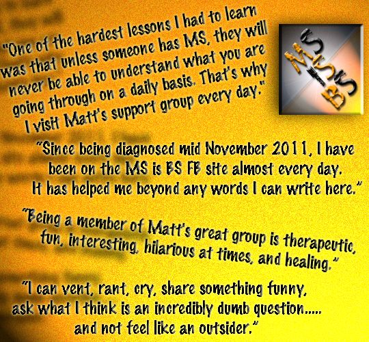 Multiple Sclerosis Funny | Matt's Multiple Sclerosis: MS Support Group