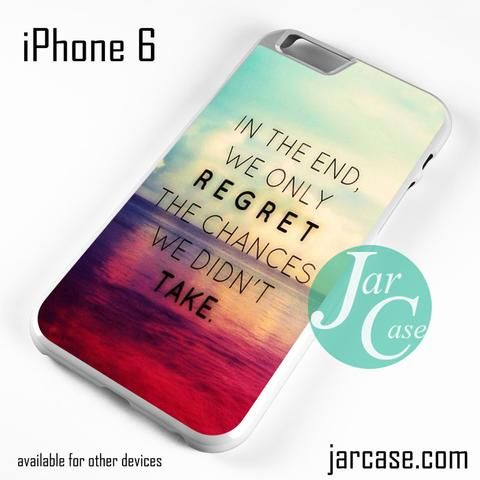 Only Regret Phone case for iPhone 6 and other iPhone devices