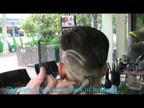 Special CLIPPER SHORT and TATTOO Style, of NINA by Theo Knoop 2011 production. - YouTube