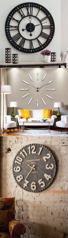 Большие часы как элемент интерьера - Дизайн интерьеров   Идеи вашего дома   Lodgers