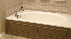 Plano, bathroom, remodel, backsplash, tub, resurfacing, cabinet, interior design, affordable, budget