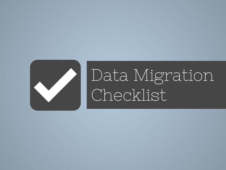 When embarking on a data migration project we need to identify the risks and activities well in advance.