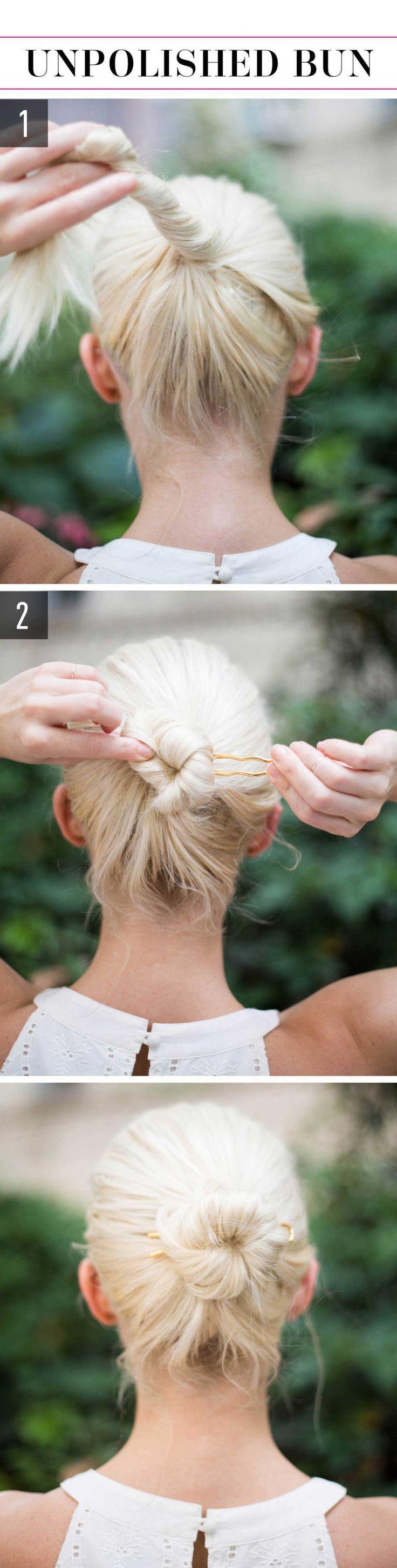 15 supereinfache Frisuren für faule Mädchen die es nicht einmal probieren kön …