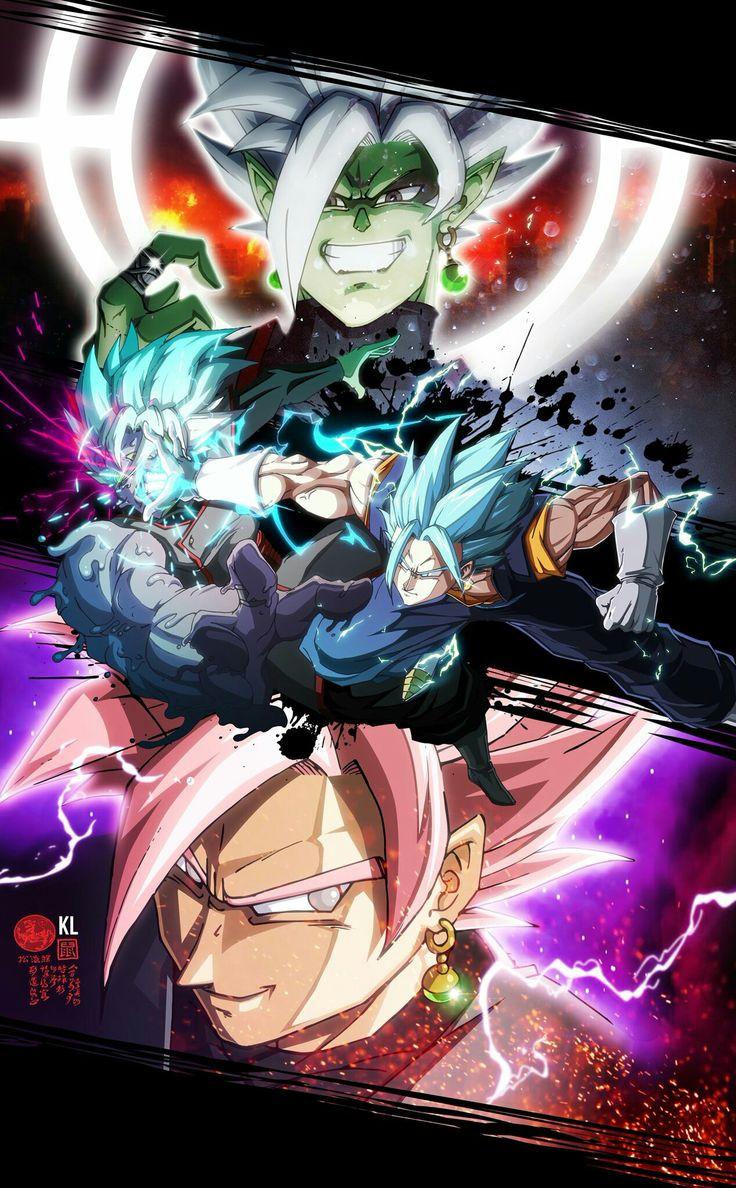 Vegito vs Zamasu fusion