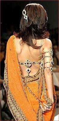 Latest Saree blouse back designsLatest Saree blouse back designs�New Designer Sarees-Saaris