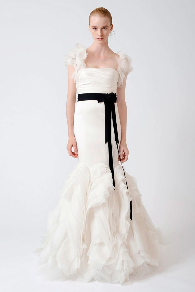 "Vera Wang ""Ethel"" gown"