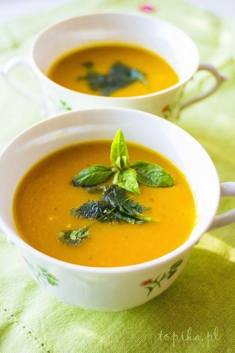 Topika: Zupa z dyni Agnieszki Kręglickiej