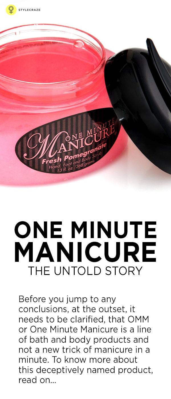 One Minute Manicure: The Untold Story