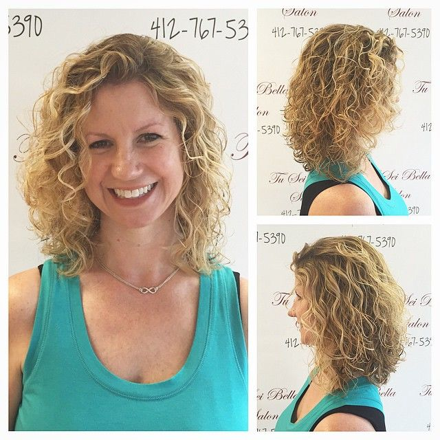I love Stephanie. She has gorgeous natural curls. We've ...