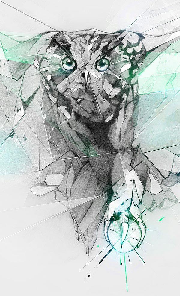 'Hibou' by Alexis Marcou