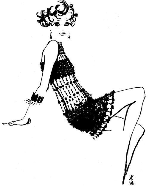 「ファッション・イラストレーター 森本美由紀展」弥生美術館で開催 - VOGUEやOliveで活躍の写真7