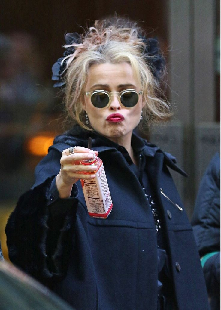 Helena Bonham loira