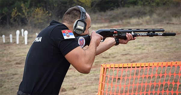 This year Shooting Rally converged 16 teams, including verified four teams enlisted of the competitors of the practical shooting club IPSC Cobras, as well as three teams enlisting operators of the Gendarmerie Detachment of the city of Niš... #specijalnejedinice #serbianspecialforces
