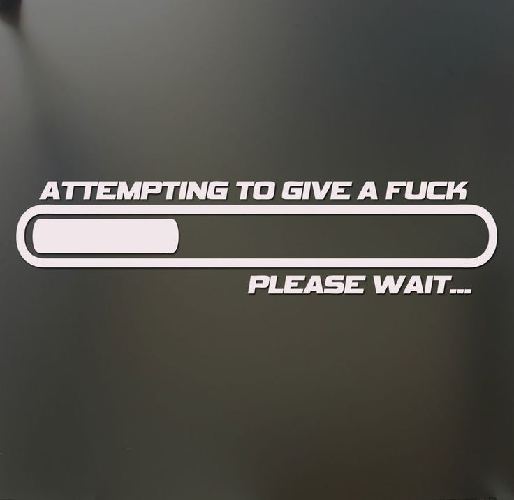 Attempting to give a fc please wait sticker funny jdm low car window decal