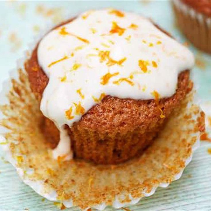 Try this Glut Squash Cupcakes recipe by Chef Jamie Oliver.