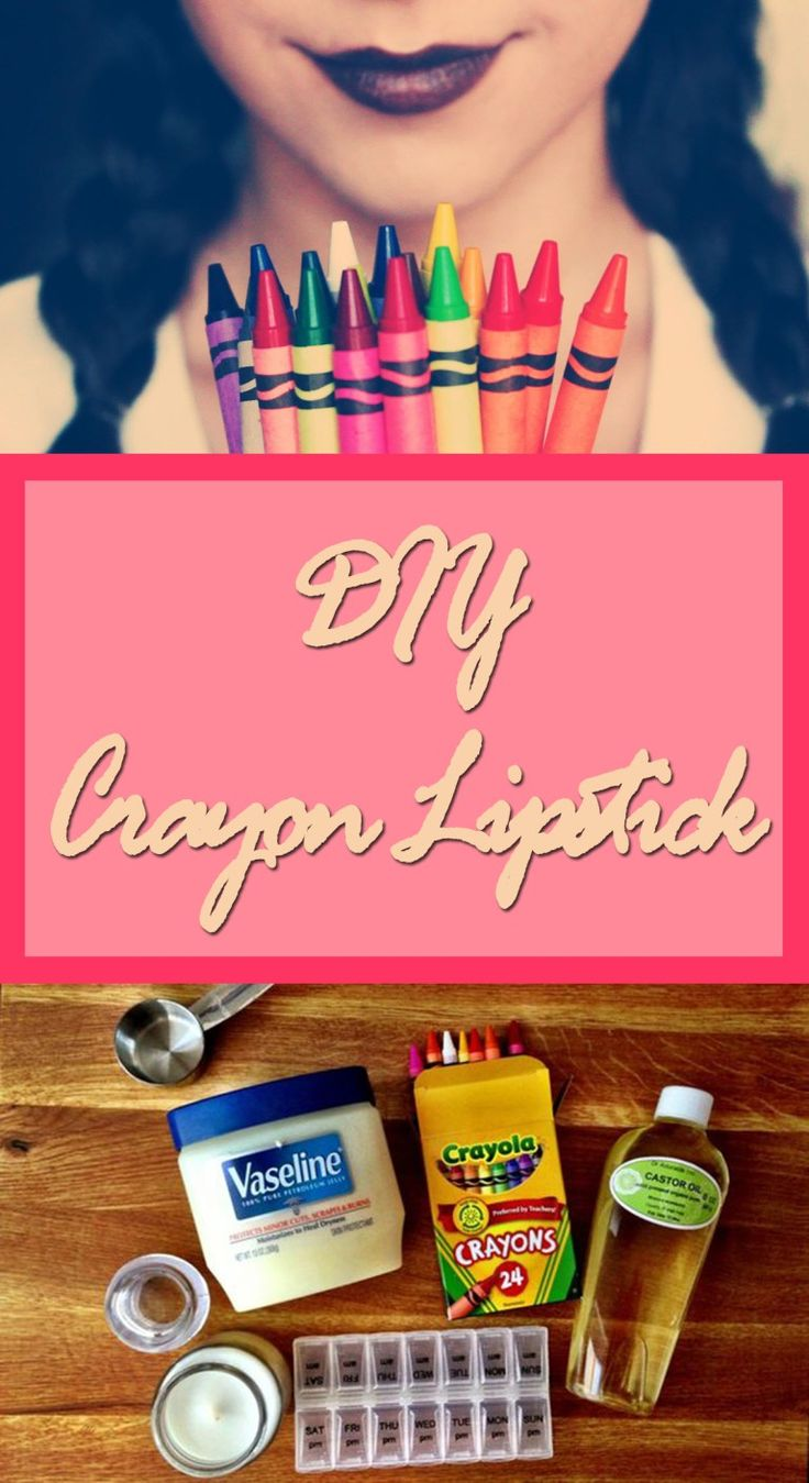 You will be surprised to discover how easy is to make your own lipsticks in a variety of colors from something that you may find in your kid's room. Once you will discover this, you will want to try it immediately.