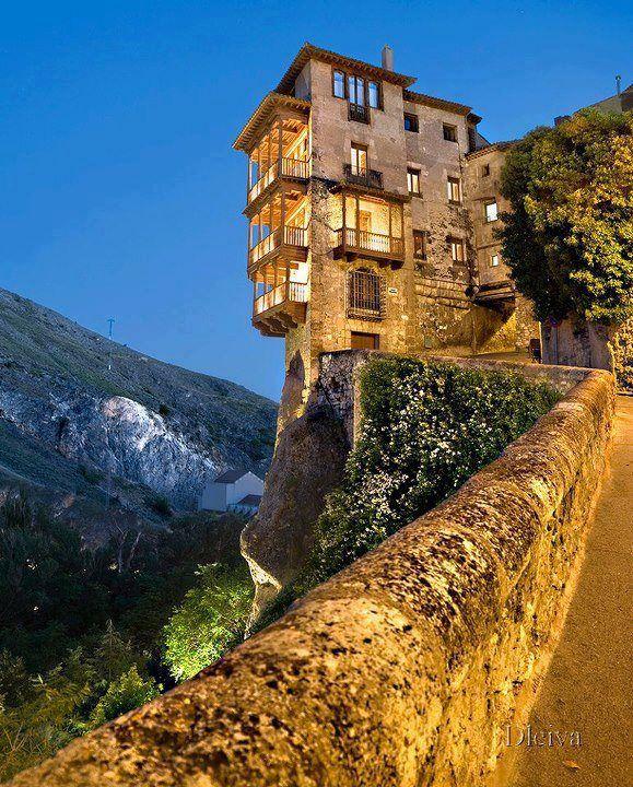 Hanging Houses Of Cuenca, Spain::