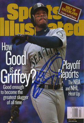 Ken Griffey Jr Sports Illustrated Autograph Poster on eBay!
