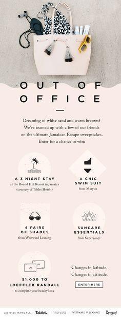Win: White Sand + Warm Breezes