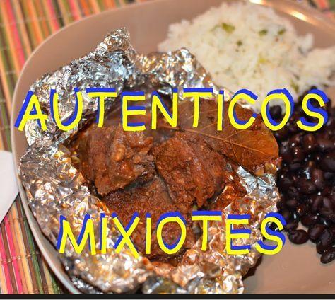 Autenticos Mixiotes estilo Puebla receta facil