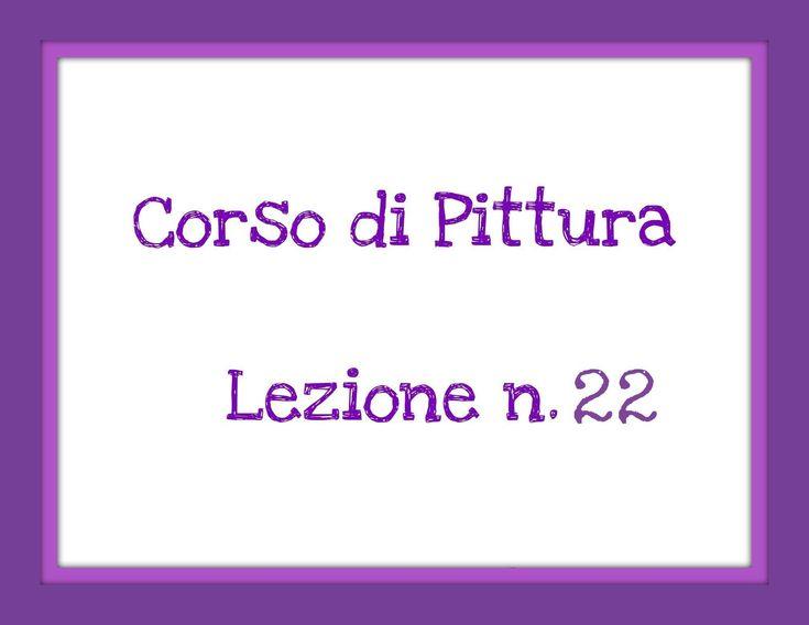 Corso di Pittura,Lez.n.22 (Abbozzare i capelli e definizione particolari...