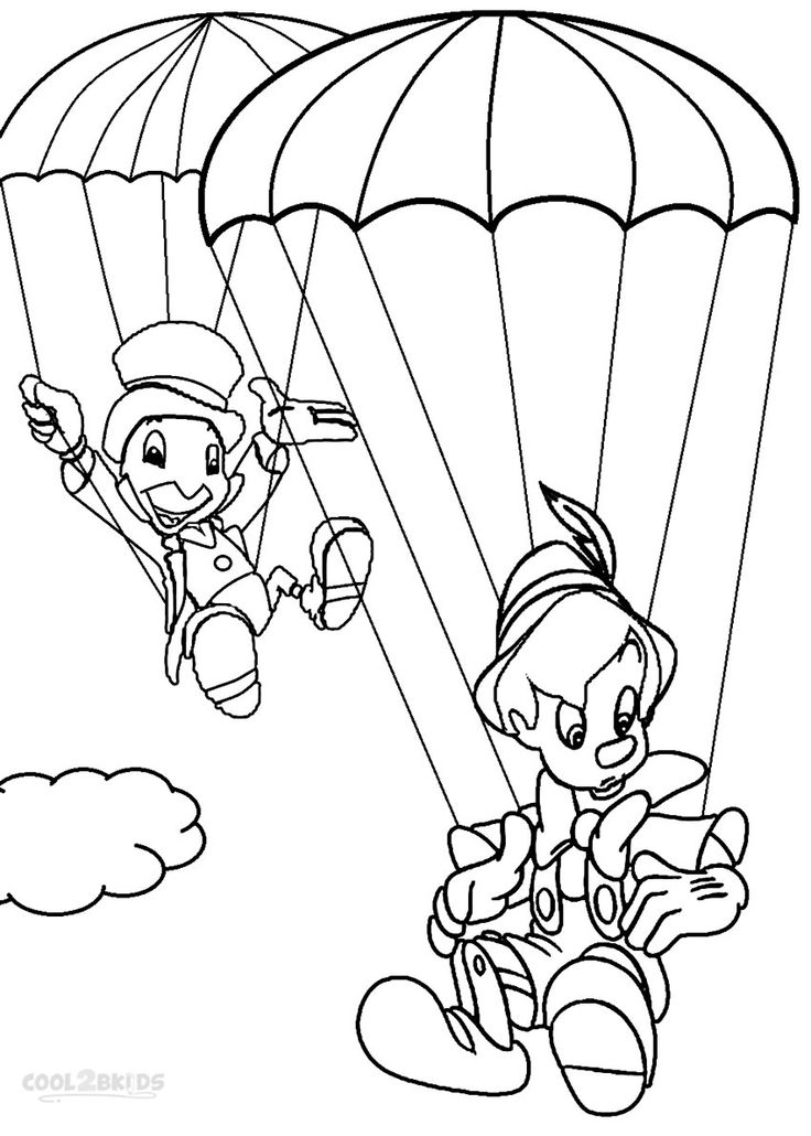 Printable Pinocchio Coloring Pages For Kids