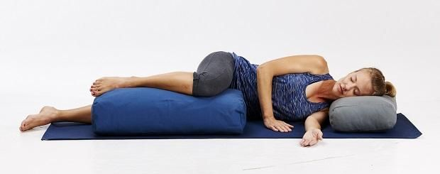 side savasana