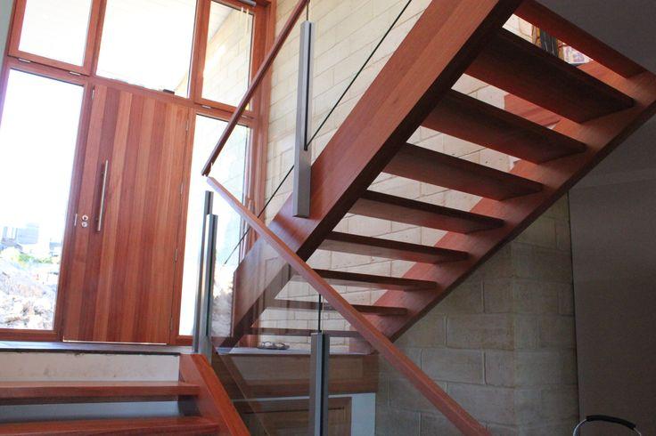 Interior Semi Frameless Glass Balustrade by Outdoor Edge